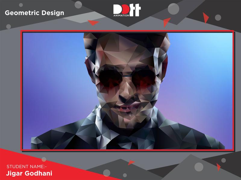 DOTT ANIMATION JIGAR GODHANI GEOMETRIC DESIGN photo graphics branding design