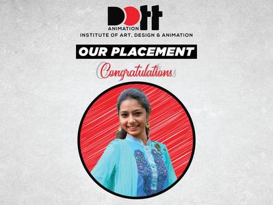 DOTT Placement Madhavi Vaghela 01 placement photo graphics branding design