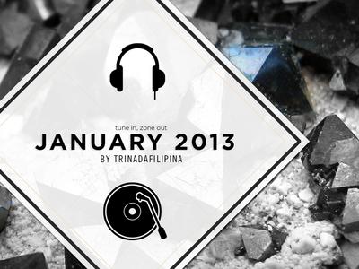 january mixtape cover