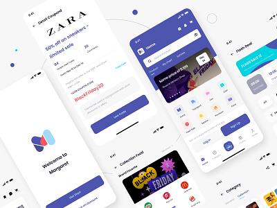 Margaret Ecommerc App ecommerce design store shop ecommerce ui ui design design app finance app design finance card bill balance clean