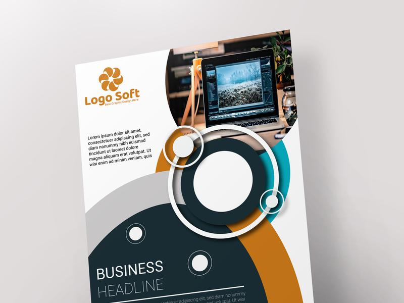Flyer branding logo design design illustrator flyer design