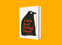 Fairy Tale Book Cover little red riding hood typogaphy procreate fairytale book cover illustration illustrator fairy tale