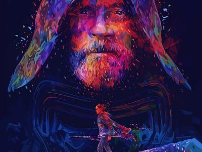 Last Jedi kylo ren luke skywalker the last jedi star wars alessandro pautasso rey kaneda99 kaneda