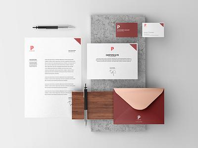 Free Stationery PSD Mockup letterhead envelope business card design freebie free mockup identity branding stationery