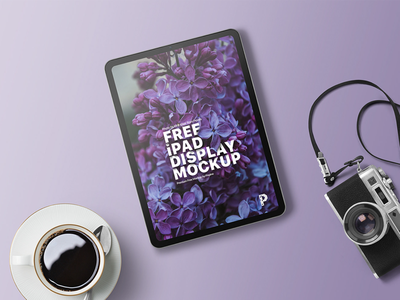iPad Display Mockup interface app application templates design designer ux ui showcase presentation mockup display ipad