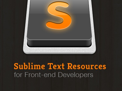 Sublime Text Resources for Developers sublime text resources code editor blog post orange st2 productivity package control