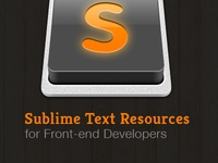 Sublime Text Resources for Developers