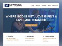 Church website re-design