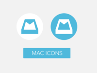 Flat Mailbox beta app replacement icons