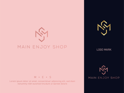 MES initial luxury cosmetics logo design brand identity logo design m s initial m logo boutique logo cosmetics gold color modern logo signature logo trendy logo 2021 initial mes  logo ms logo luxury