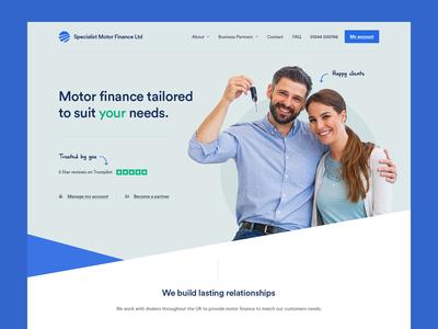 Finance company - concept
