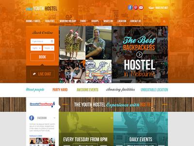 Hostel Homepage