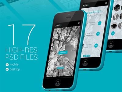 Photographers Mobile App - Wip