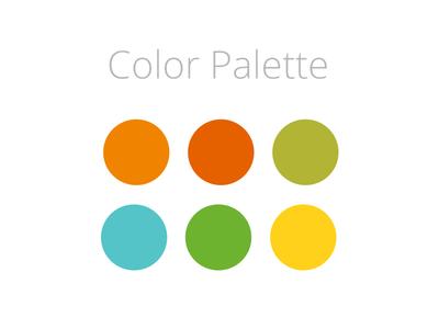 Color Palette for the next Ui Freebie