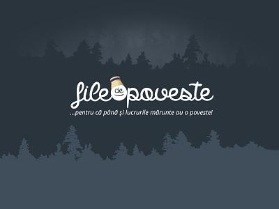 Logo File De Poveste blogger logo story logo stories logo blog logo type logo logo design logo design