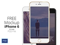 FREE iPhone 6 - Scalable Mockups 4.7'