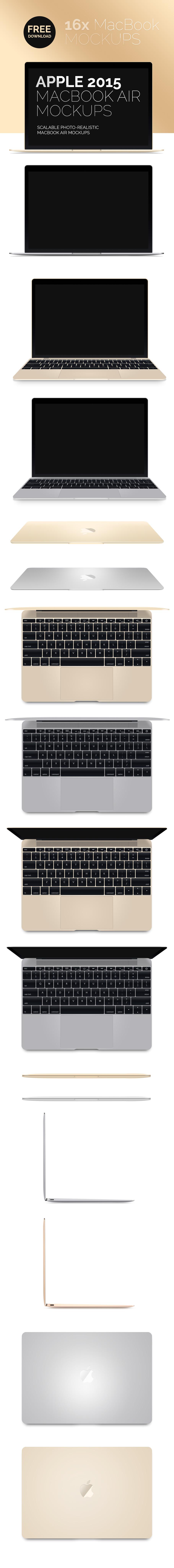 Download new macbook air 2015 mockup