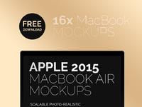 Download New MacBook Air 2015 Mockup - Free New Macbook Air 2015 Mockup
