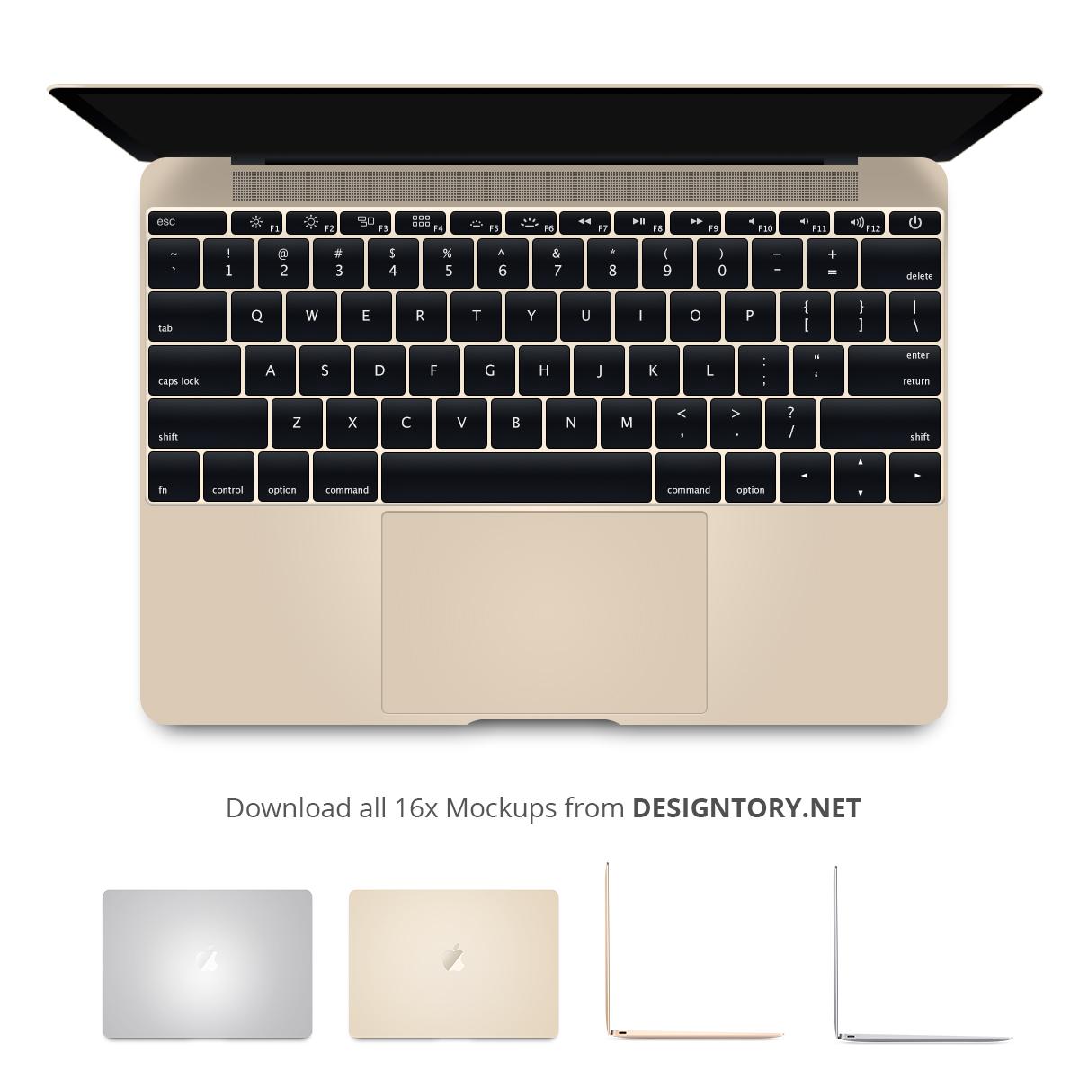 Macbookairfreebiemockup