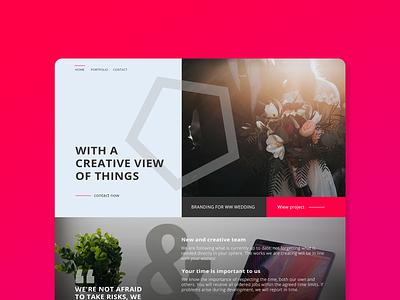 Web page design for social agency webdesignagency branding ux agency website website web design social media webpage ui web design