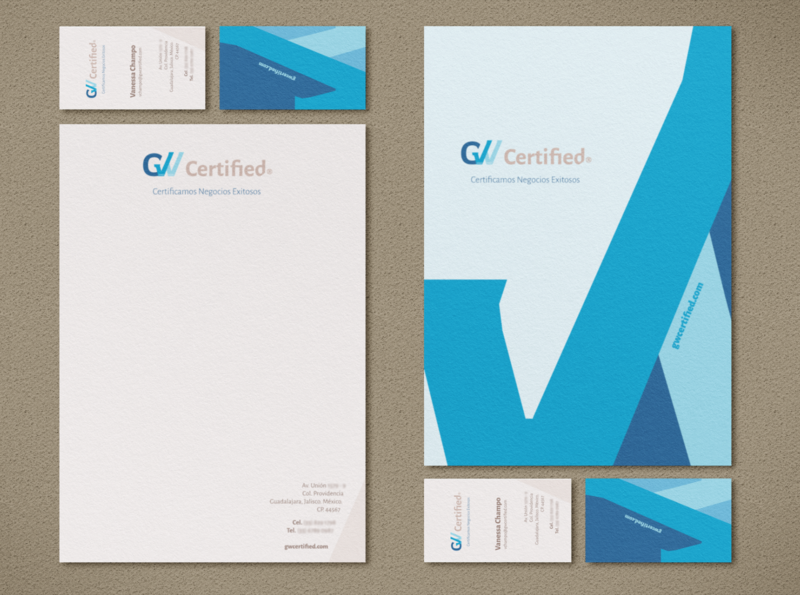 Stationery GW Certified stationery design brand