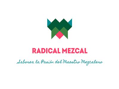 Radical Mezcal Brand vector branding design mezcal brand logo