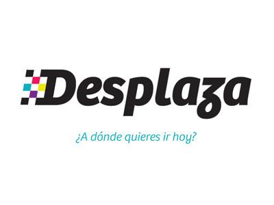 Desplaza Logo taxi design brand logo