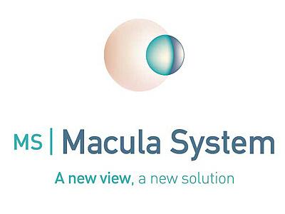 MS Macula System logo identity