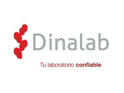Dinalab brand lab identity