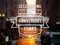 10th Anniversary Crest