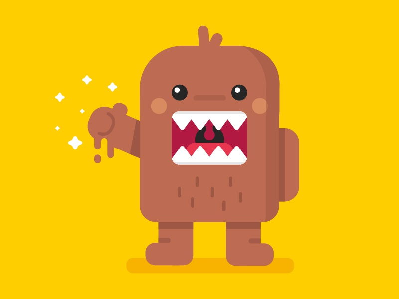 domo kun by removt dribbble dribbble