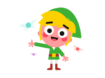 Link and some of his elves