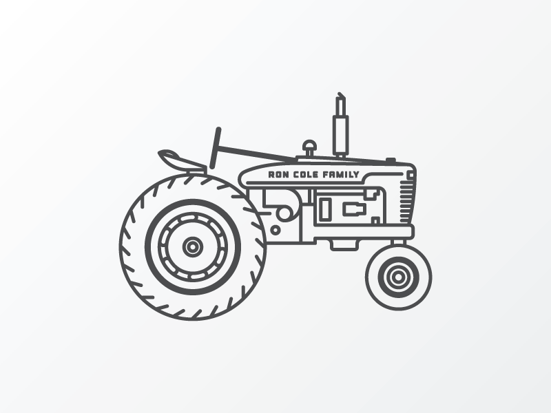 Tractor Old By Brian K Gray Dribbble
