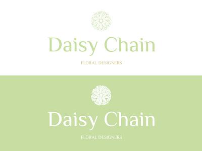 Daisy Chain Branding brand design logo design logotype typography floral design florist client work identity branding branding and identity identity design branding design branding