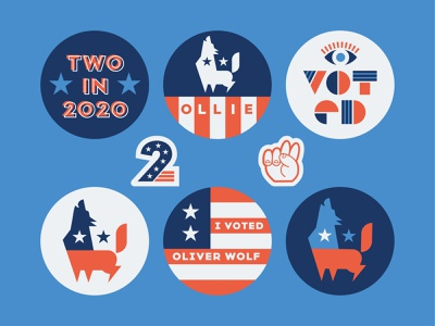 Birthday Package: Part Two political politics hands peace flag 2020 wolves wolf patriotic americana american vote election candidate president presidential