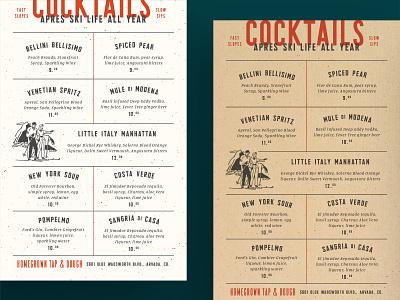H.G. Cocktail Menu layout layout design typography layout typography restaurant restaurant branding restaurant menu menu menu design