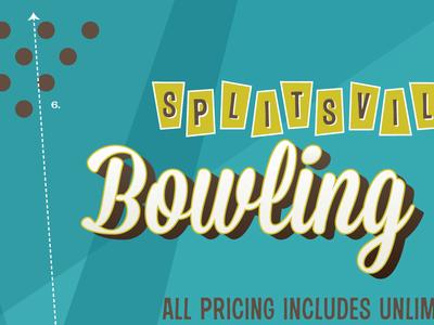 Splitsville Pricing Poster