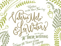 Wedding Invites / Detail 1