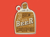 Craft-A-Brew Postcard