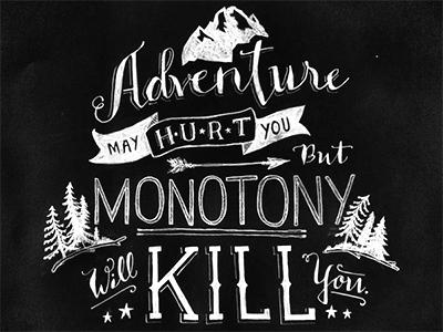 Slide monotony