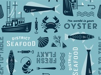 Seafood: Packaging Pattern