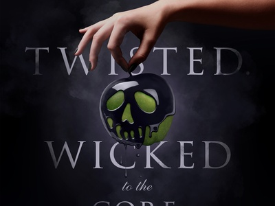 Wicked to the Core halloween party wicked digital art photoshop hand skull hyperrealism realistic photo manipulation digital manipulation digital painting witchcraft witch apple poisoned apple poison halloween