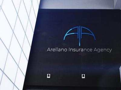 Branding: Arellano Insurance Agency logo brand identity branding logodesign design