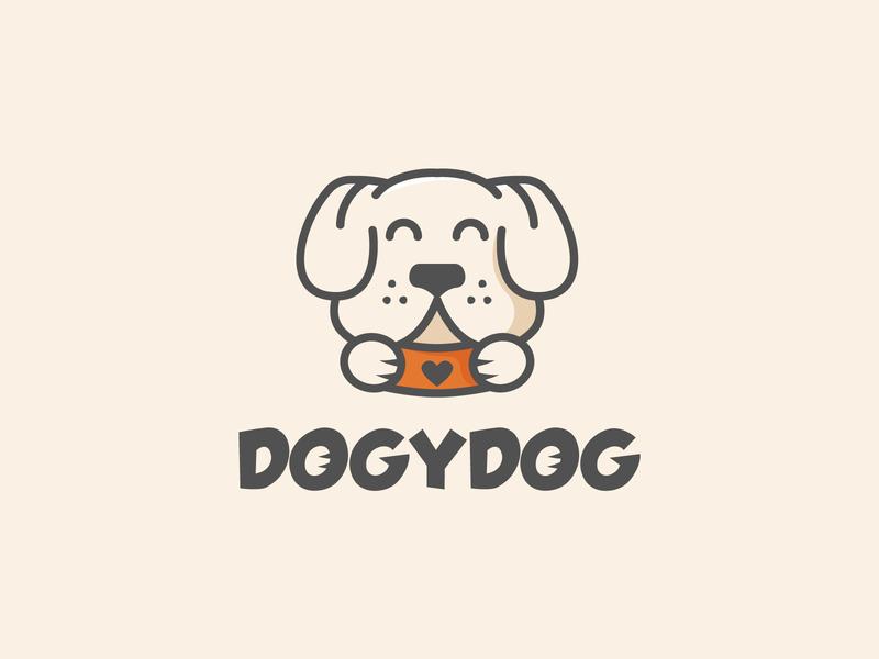 Doggy Logo pets logo petshop pets pet cute animal logo cute animal logo dog logo dogs doggy dog