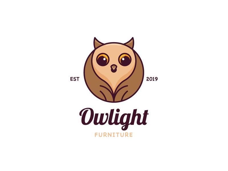Owl Logo animal cute animal owl illustration bird animal logo cute logo cute minimalist logo bird logo owl logo owl