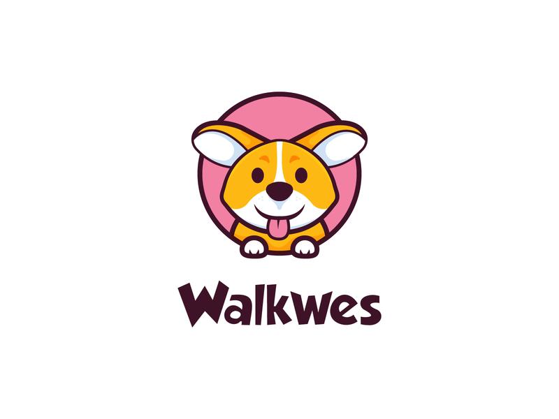 Dog Logo cute logo pet cute illustration cute animal animal logo pet care petshop pet logo mini cute head dog logo animal dog corgi
