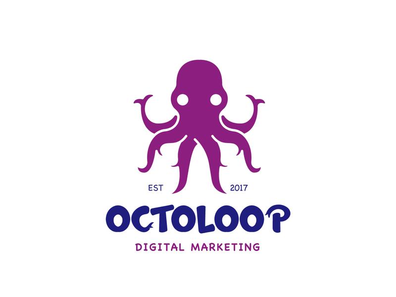 Octo Logo illustration pet cute logo cute animal cute animal animal logo octopus logo squid octopus octo