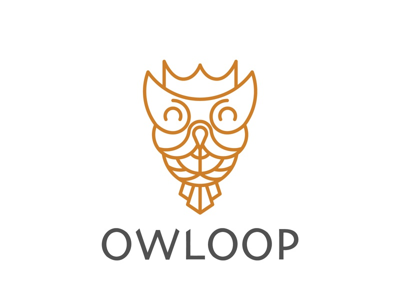 Owl logo monoline logo logo owls owl illustration bird animal animal logo owlines owl logo owl