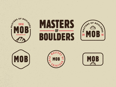 Masters Of Boulders Competition