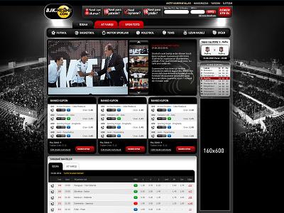 Bjk.nesine.com - Affilate site bets web site design affilate site bjk